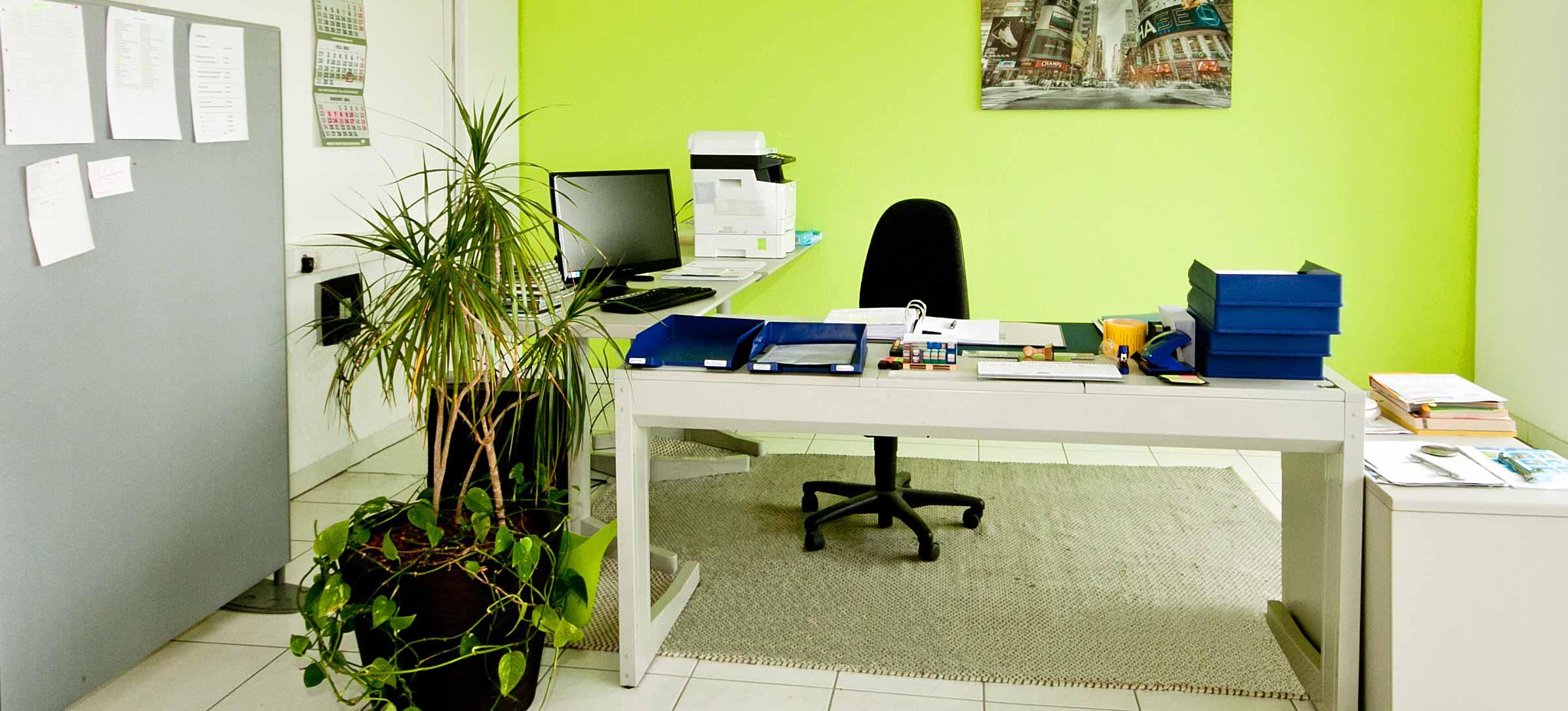 Ein Büroraum bei MVS Silis