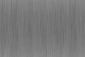 Vertikal gebürsteter Edelstahl